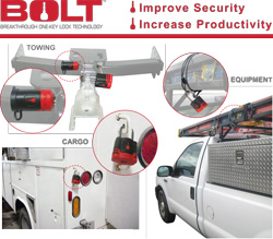 Strattec's BOLT Series lets you customize as many locks as you want to work with ONE Key - Your Truck Key.