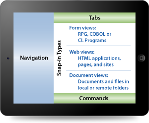 Components of the LongRange mobile app screen layout.